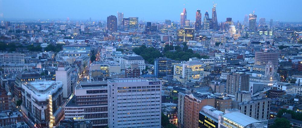 London sales decline