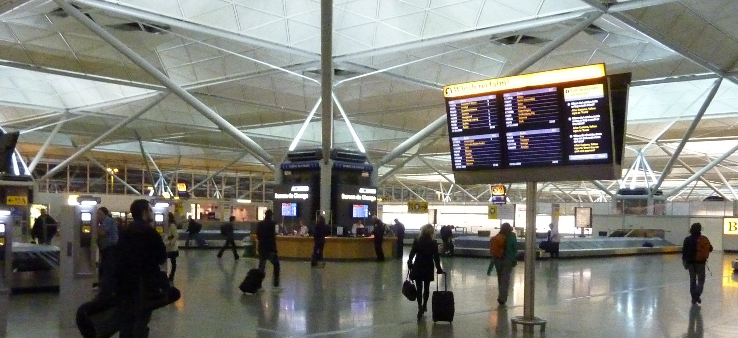 Stansted growth